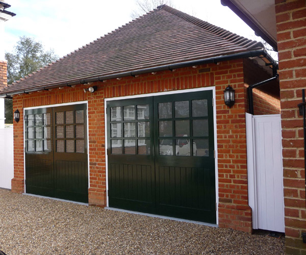 Sidcup Garage Sidcup Garage 2. Double Garage Design In Sidcup   Millhouse Landscapes