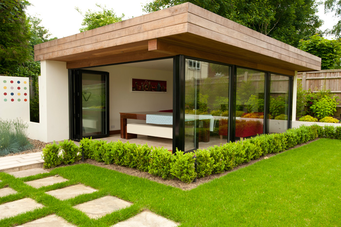Garden room design millhouse landscapes for House plans with garden room