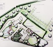 Large Garden design in Lynsted Kent