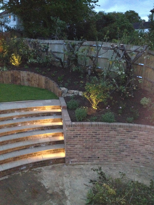 Badgers Mount Rear Garden Project
