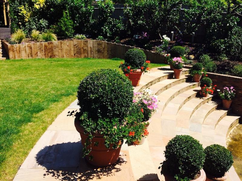 Badgers Mount Rear Garden Project