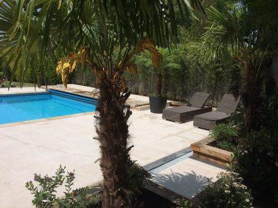 restored swimming pool